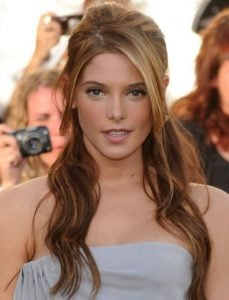 Ashley Greene long hair with bangs