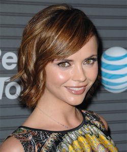 Christina Ricci bangs hairstyle