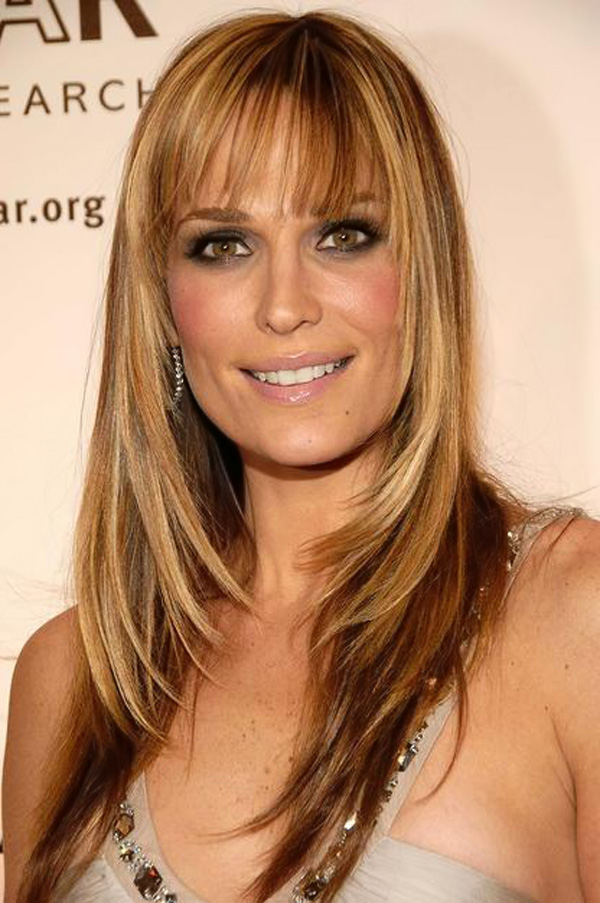 Hairstyles For Straight Hair With Bangs And Layers : Top long layered haircuts