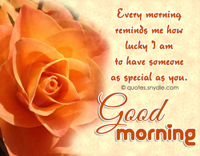 Good Morning Quotes For Someone Special: 50 Cute Good Morning Text For Him