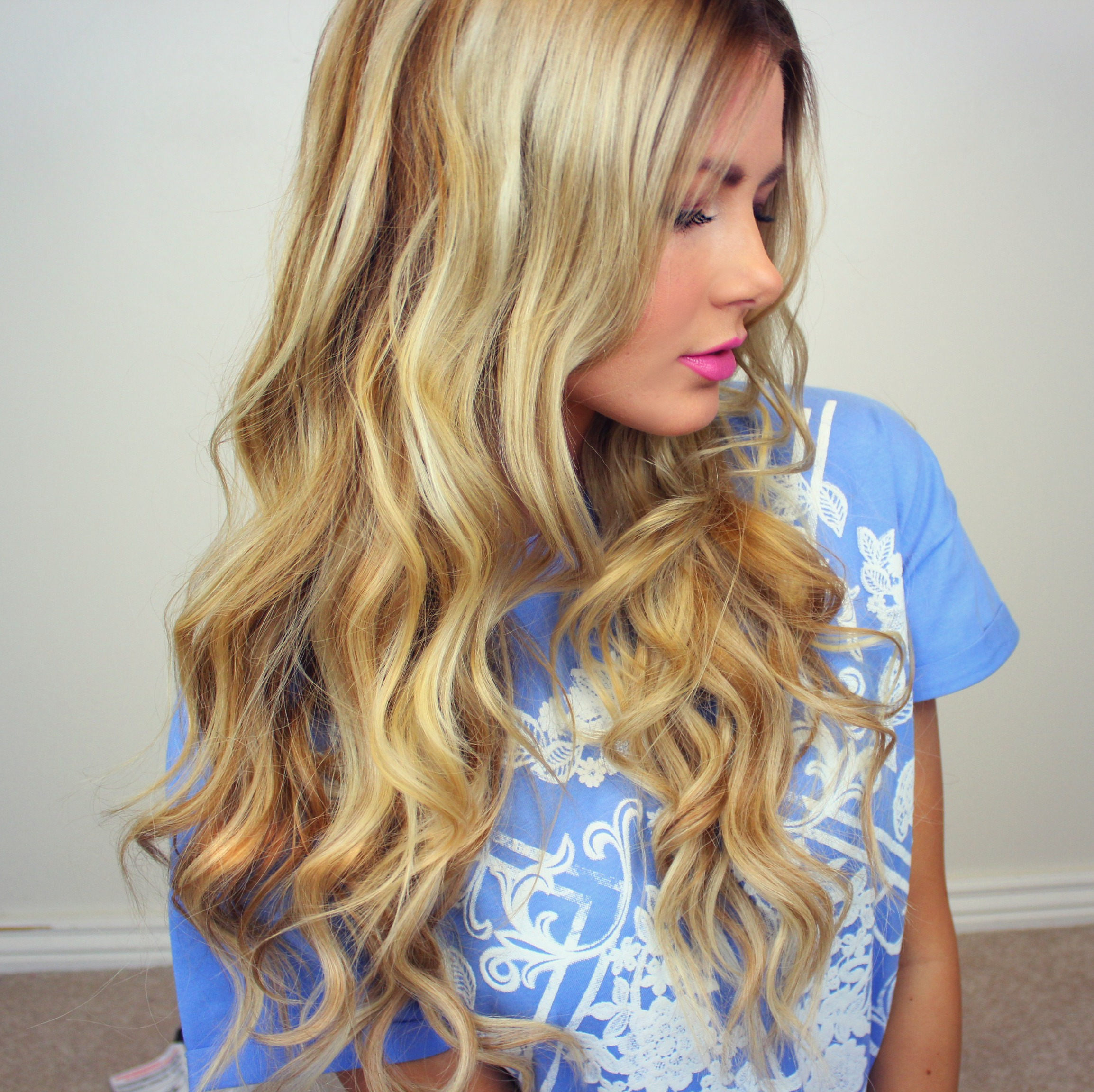 Top 25 blonde hair color ideas in 2017 ashleys bright blonde look is flirty and gorgeous the models base hair color is very light blonde but she tones it down a lot with a healthy smattering pmusecretfo Gallery