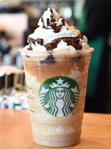Caramel Cocoa Cluster Frappuccino Blended Creme