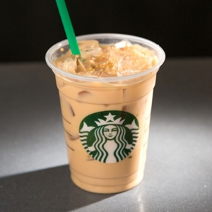 Caramelized Honey Frappuccino