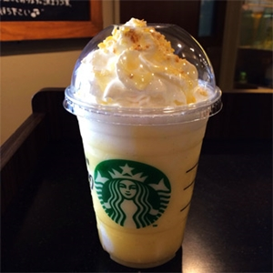 Lemon Bar Frappuccino
