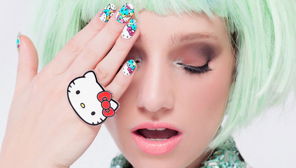 30 Hello Kitty Nails Hello Kitty Nail Art Inspiration