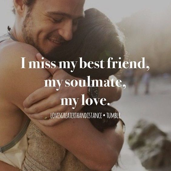 Missing You Girlfriend Quotes
