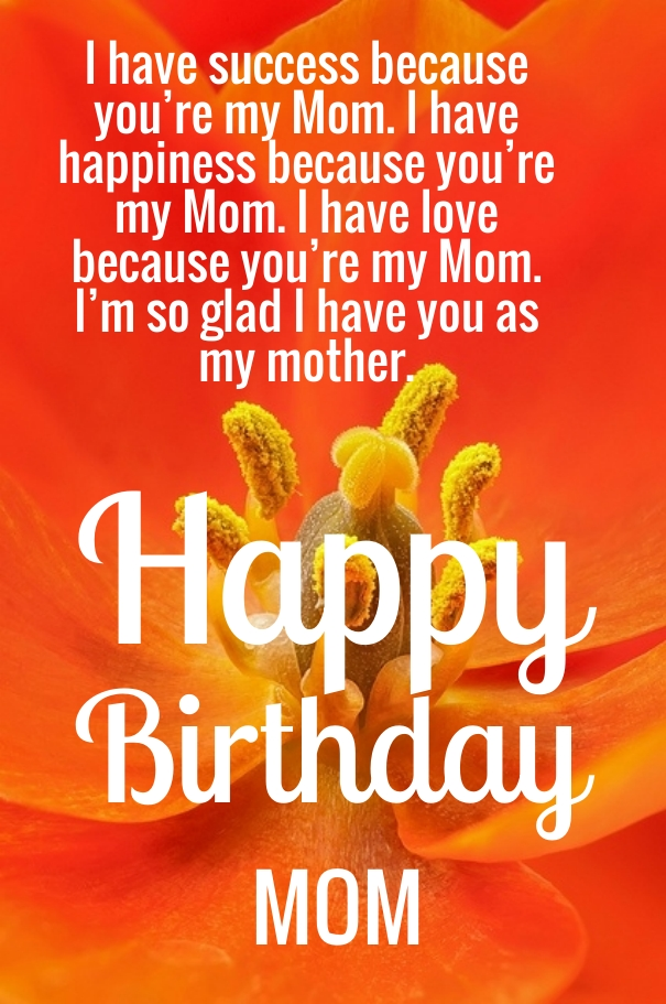 Mom birthday quotes