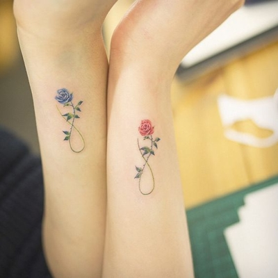 30 Inspiring and Beautiful Mother Daughter Tattoos