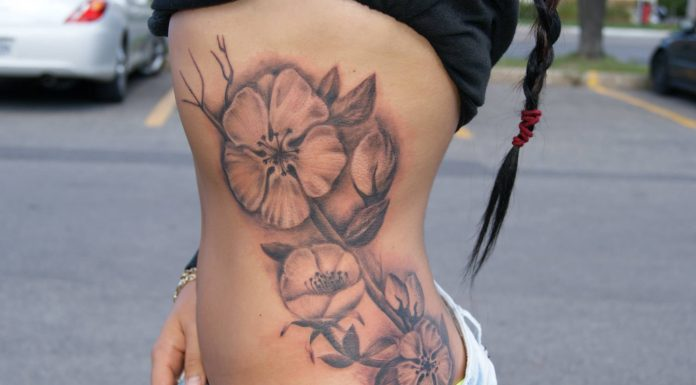 Side tattoos for girls