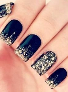 gold dust nails