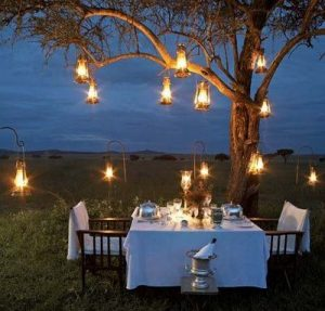 Have a candle lit dinner