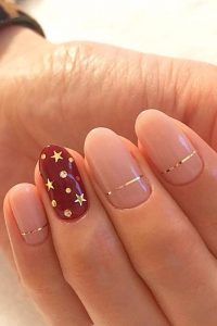 accent stars nails