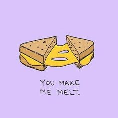 Grilled Cheese Flirting