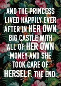 The princess quote