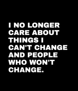 How to Accept and Let Go of People Who Won't Change