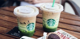 starbucks matcha drinks