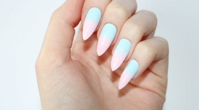 cute almond nail designs
