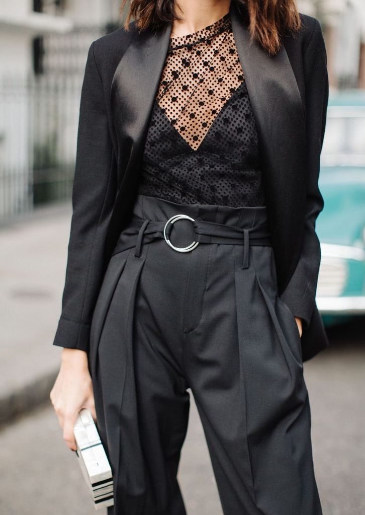 30 Chic All Black Outfits Looks And Styles