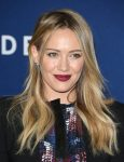 Hilary Duff bangs hairstyle