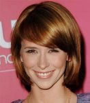 Jennifer Love Hewitt hairstyle with bangs