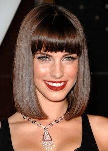 Jessica Lowndes hairstyle with bangs