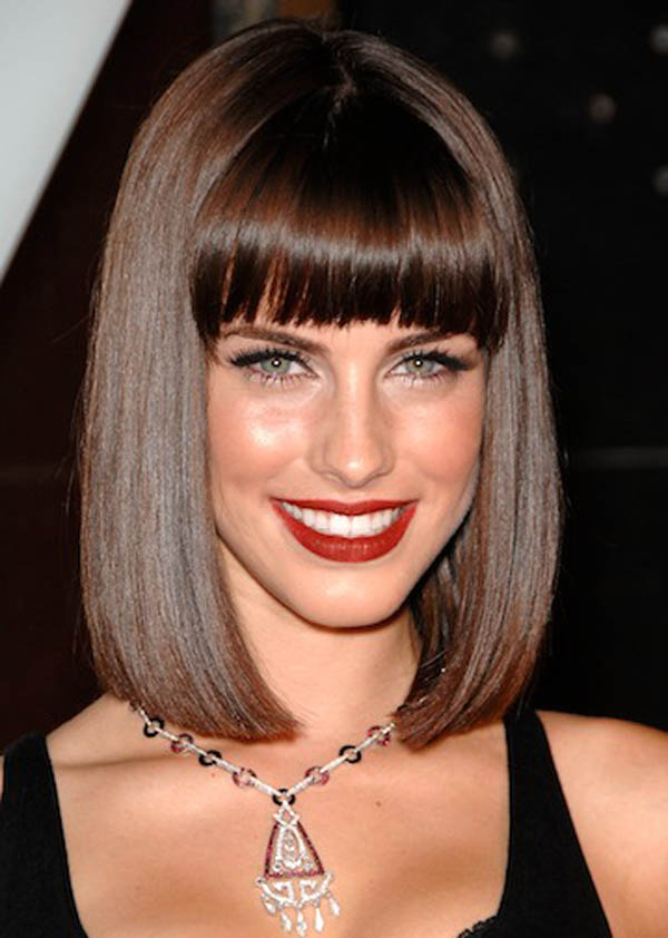 25 Best Hairstyles With Bangs 2017 Pretty Bangs Hairstyles