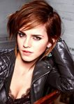 Emma Watson Hairstyle with Bangs