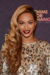 Beyonce curly bangs hairstyle