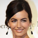 Camilla Belle hair updo