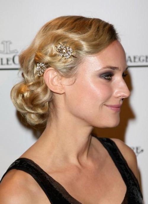 Mary Kate Olsen hair updo