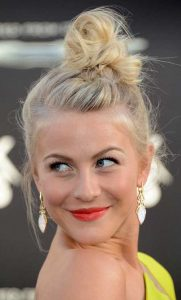Julianne Hough hair updo