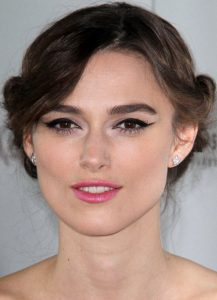 Keira Knightly hair updo