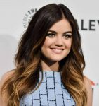 Lucy Hale long layered haircut