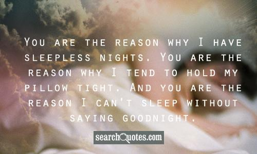 Good Night Quotes for Your Guy