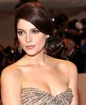 Ashley Greene updo