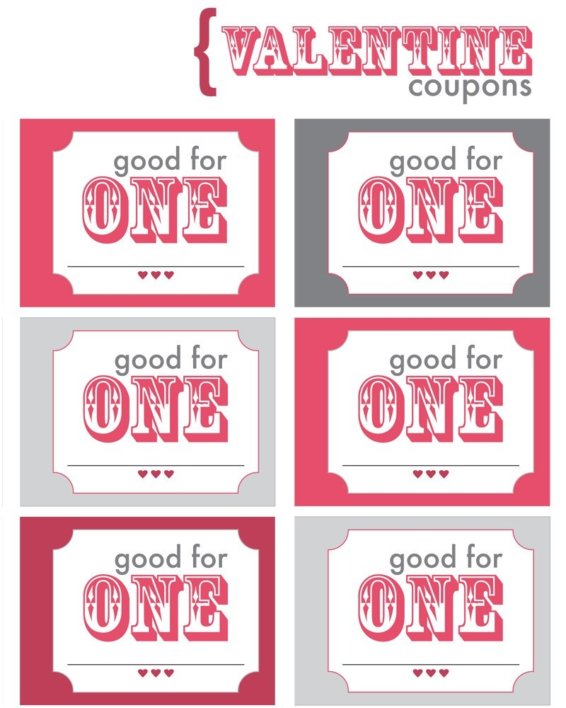 Couple coupon book for him