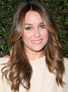 Lauren Conrad Light Brown hair with ash blonde lowlights and face framing highlights