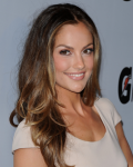 Minka Kelly Brown hair with golden highlights