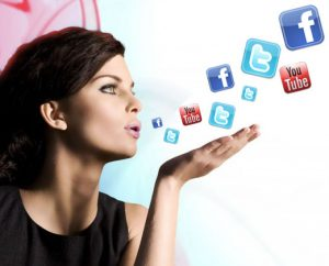 Use social media to show how well you are doing without him
