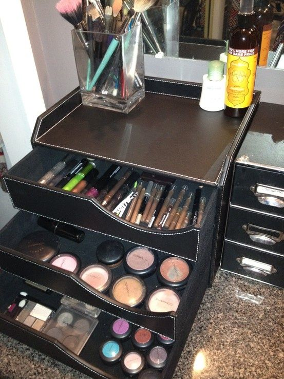 Best diy makeup storage ideas 15 makeup organizer ideas Makeup organizer ideas