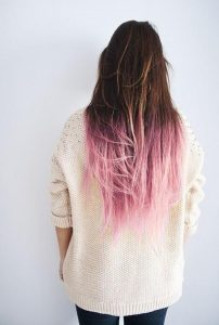 ombre color ideas