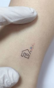home tattoo