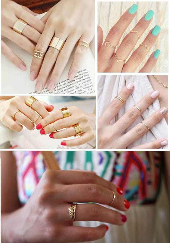 Mid-Finger Rings for Summer