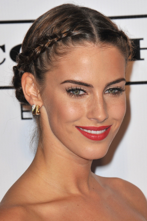 high bun hairstyles