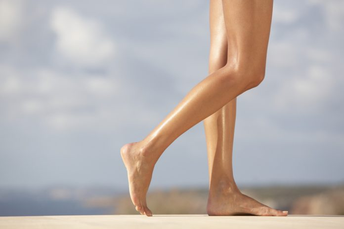 How to get silky and shiny legs