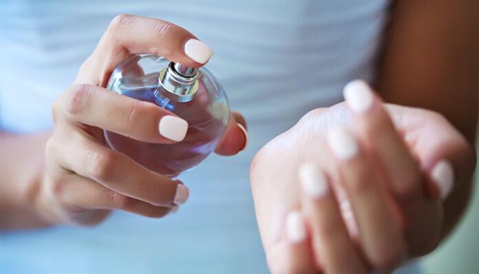 Perfume and vaseline