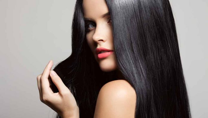 temporary black hair dye