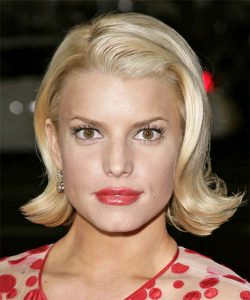 jessica simpson new haircut