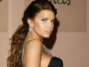 jessica simpson brown hair