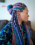 hairstyles to do with box braids